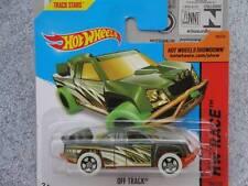 Hot Wheels 2014 #184/250 OFF TRACK green Batch M HW Race Treasure Hunt T-HUNT