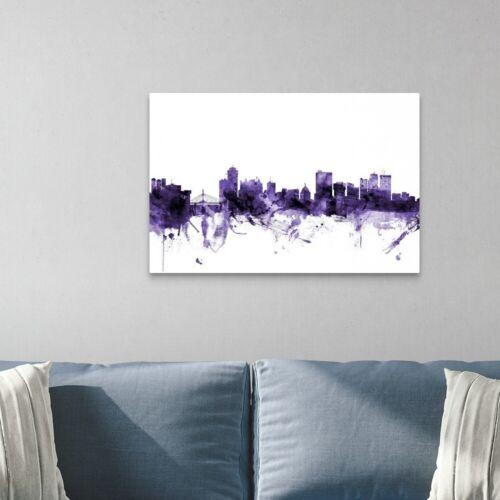 Skyline Home Decor Winnipeg Canada Skyline Canvas Wall Art Print