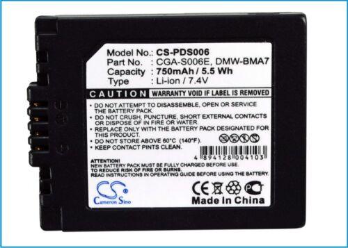Batería De Alta Calidad Para Leica V-lux1 Premium Celular