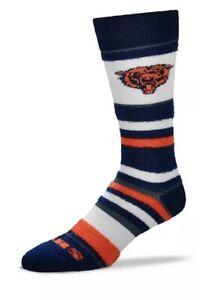 Chicago Bears For Bare Feet NFL Got Marbled Mens Crew Socks