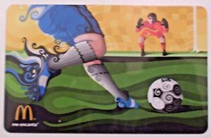 Unused-2014-McDonalds-Soccer-Futbal-Sports-Collectible-GIFT-ARCH-CARD-No-Value