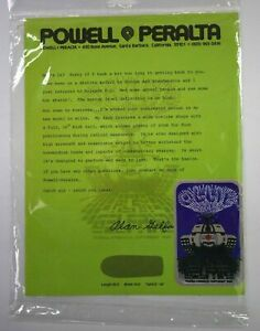 Powell-Peralta-1980-Ollie-Tank-Rare-Original-Deck-Sticker-amp-Alan-Gelfand-Letter