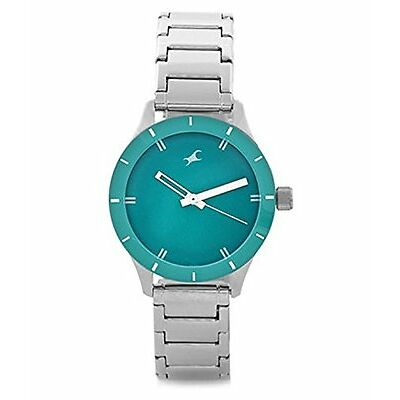 Fastrack 6078SM01 Monochrome Analog Blue Dial Women's Watch