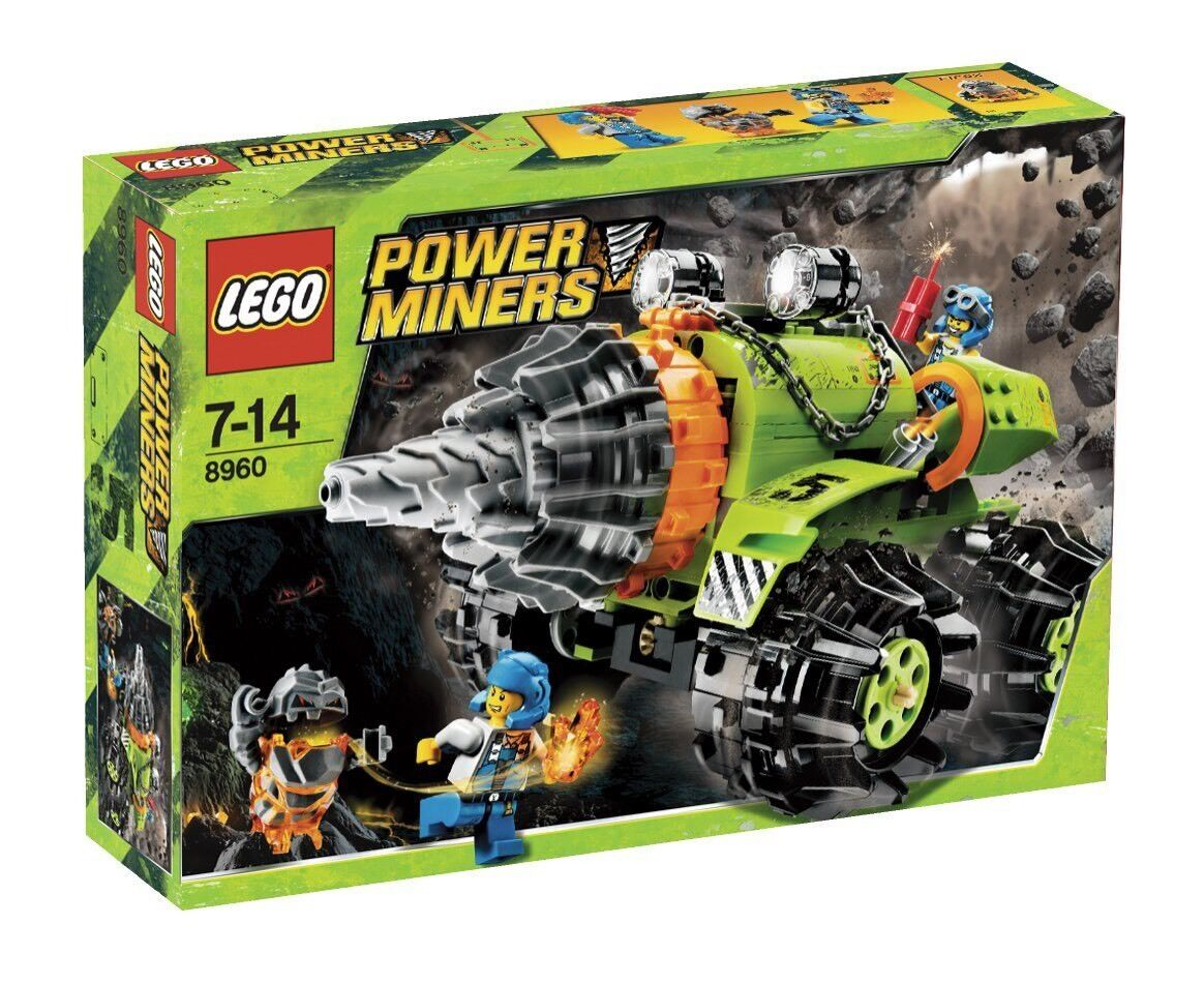 LEGO Power Miners Thunder Driller 8960 NEW SEALED