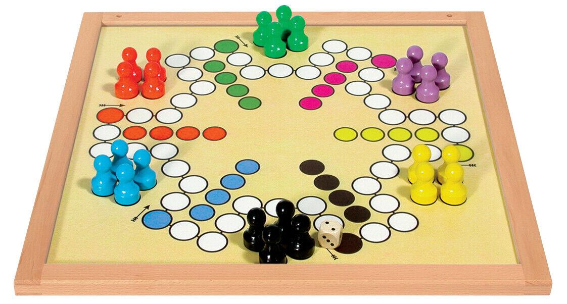 Diantre Magnétique Jeu 50x50 cm 6 joueurs et 4 joueurs 5016