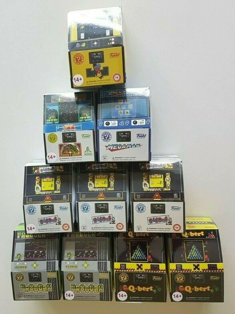 10 x Funko Mystery Minis Retro Gaming Blind Box