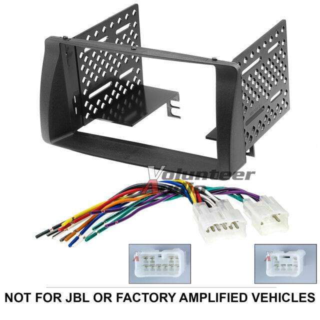 Jvc Kwv140bt Double Din Car Stereo Radio Install Dash Kit Wiring Rhebay: Car Radio Wiring Harness Kits For Toyota Corolla At Gmaili.net