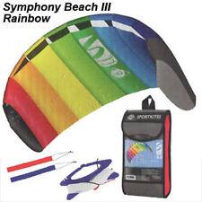 NEW! HQ Rainbow 1.3 Symphony Beach Foil Stunt Sport Power Kite Dual Line R2Fly!