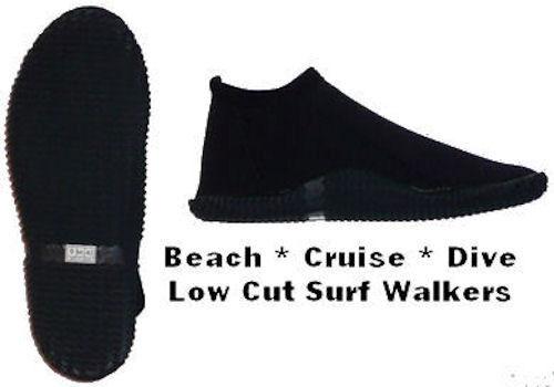 Scuba Dive Boots Low Cut Booties aqua sock cruise shoe jet ski boat SUP Kayak