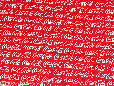 Coca Cola Coke Hair Scrunchie Fabric Tie Ponytail Holder Scrunchies by Sherry