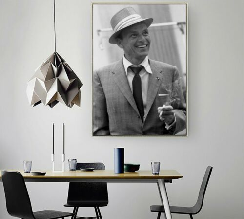 Frank Sinatra Poster Print Vintage Photo Famous Singer American Actor Wall Art