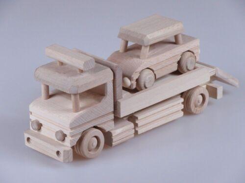 Holz Auto Abschleppwagen Spielzeug