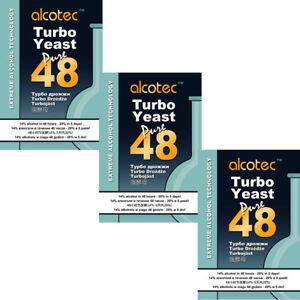 AUSVERKAUFT-3-Alcotec-Pure-48h-Turbohefe-bis-21-Alkohol-Trockenhefe