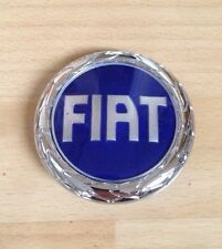 85 mm BRAND NEW FIAT IDEA PANDA STILO REAR BOOT BADGE EMBLEM LOGO STICKY BACK