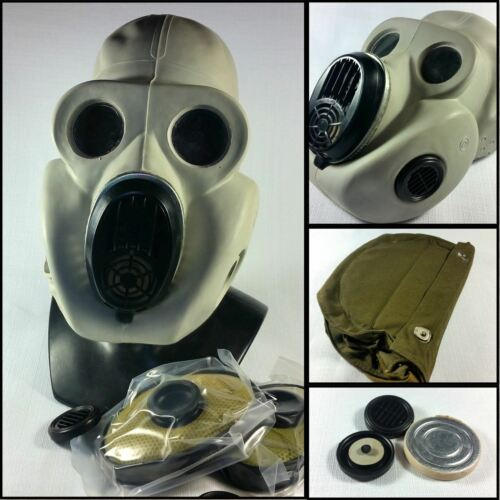 Soviet russian gas mask PBF New full set EO 19 Gas mask size Medium.