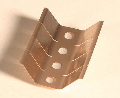 "Beryllium Copper 6 Pieces 1 1//2/"" Long RFI//EMI Contact Strip"