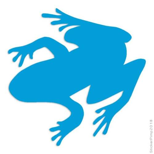 Size #1336 Frog Toad Treefrog Decal Sticker Choose Color
