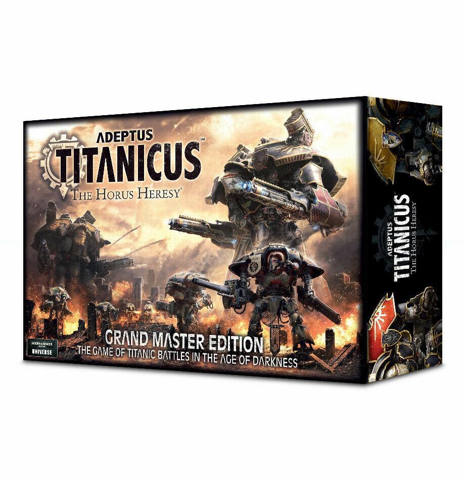 Adeptus titanicus  el gran maestro Edition Horus Heresy inglés ver.