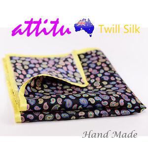 Twill-Silk-Men-Pocket-Square-Handkerchief-ATTITU-Xavier-Series-Valentines-Gift
