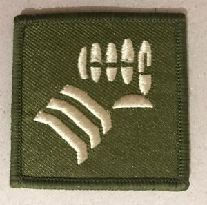 Genuine British Army 20th Armoured Infantry Brigade Iron Fist Patch Badge NEW