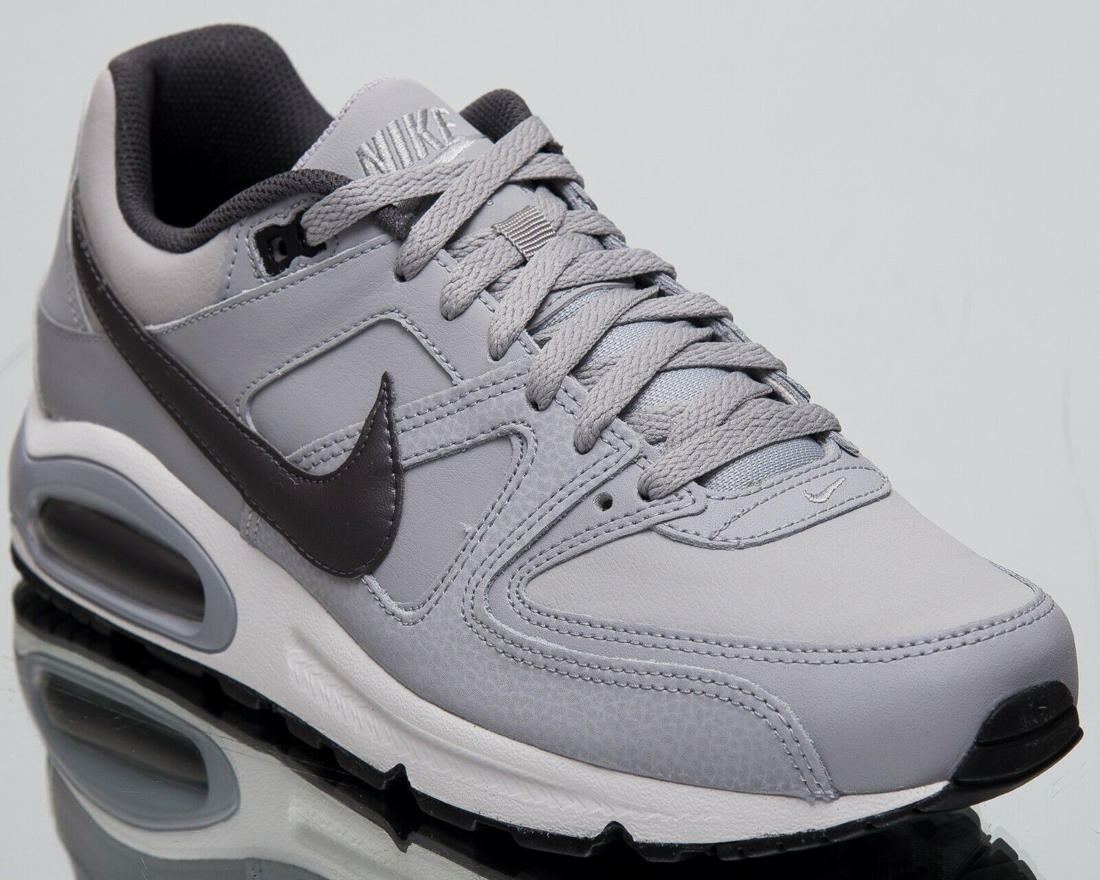Nike Air Max Command Leather New Men's Lifestyle shoes Wolf Grey 2019 749760-012