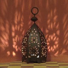 """orientale ferro lantenra Oriente lampada Marocco Lanterna di """"Msedess""""H35cm"""