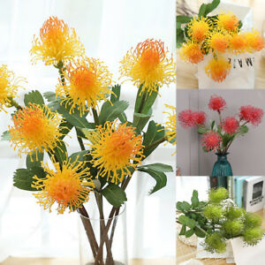 Am-DV-1Pc-Colorful-Artificial-Chrysanthemum-Fake-Flowers-Wedding-Party-Decor-E