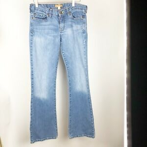 Abercrombie-amp-Fitch-Womens-Jeans-Size-6-R-6R-Stretch-Denim-Cut-Off-Jeans