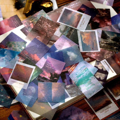 Diary Label Paper Sticker Journal Stickers DIY Scrapbooking Album Book Decor Lot