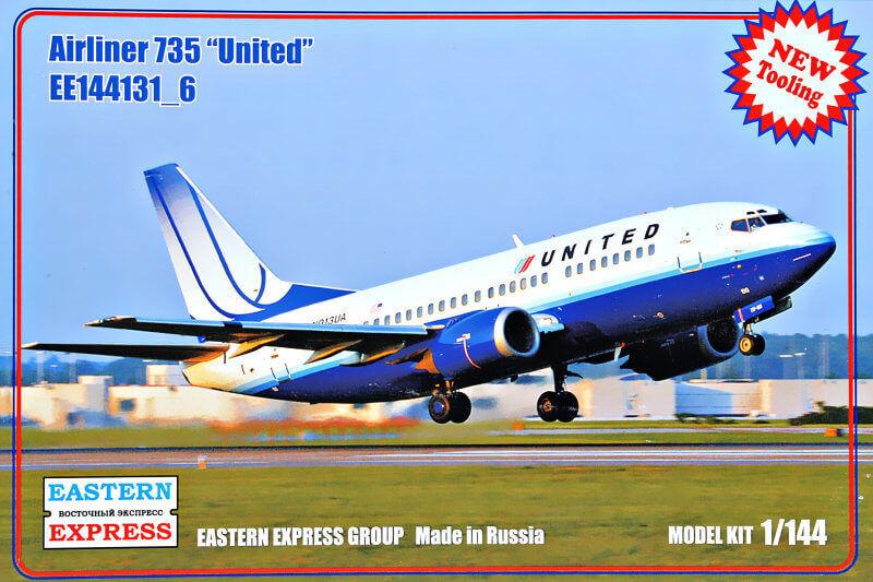 EASTERN EXPRES 144131 -6 BOEING 737 -500 FÖRENADE SKALEmodellllerL KYL 1  144 NY