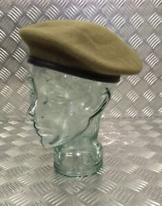 Genuine-British-Military-Issue-Khaki-Assorted-Regimental-Wool-Beret-Brand-New