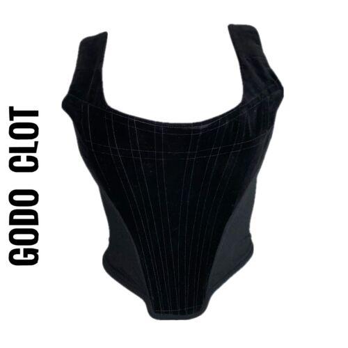 Vivienne Westwood Black Velvet Corset