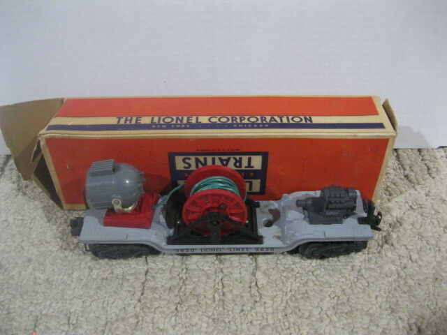 Lionel 3650 Search Light Extension Car in Original Box