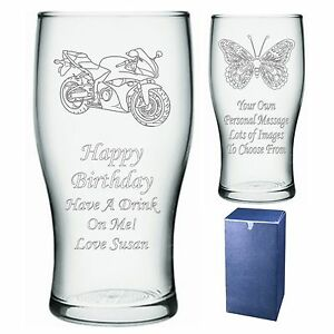 Image is loading Engraved-Pint-Glass-Birthday-Gift-Present-Grandad-Grandpa-