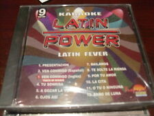 LATIN POWER KARAOKE VCD DVD VCLP-009 LATIN FEVER SEALED