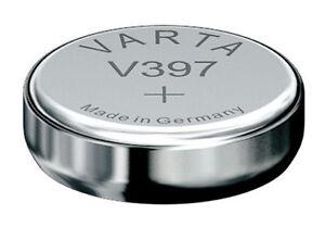 Rw311 Schlussverkauf 1 X Varta 397 Sr726sw Uhrenbatterien 1,55v Knopfzelle