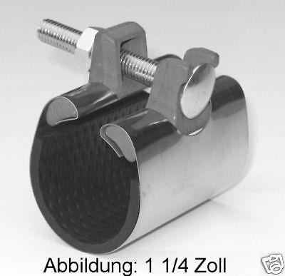 Reparaturschelle Dichtungsschelle 3//4 Zoll//26-30 mm