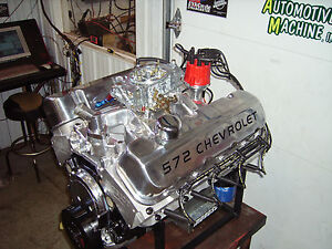 Details About Bbc 572 Chevrolet Chevy Turn Key Engine 720 Hp 572 Cubic Inches Monster Torque