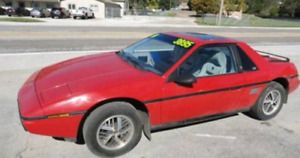 Looking for a early 80's pontiac fiero
