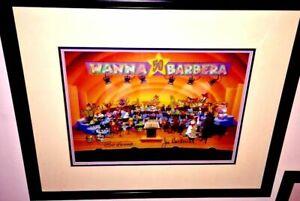 Flintstones Original Cel Hanna Barbera Signed A Yabba Dabba Doo 50th Celebration