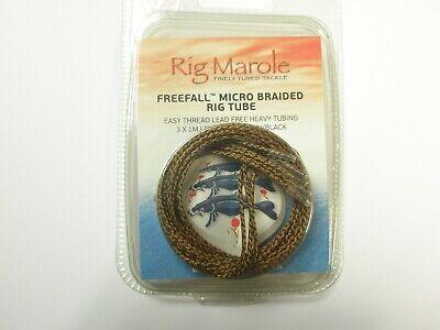 RIG MAROLE MICRO BRAIDED RIG TUBE SANDY//GRAVEL