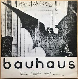 BAUHAUS-BELA-LUGOSI-039-S-DEAD-1979-1ST-PRESS-UK-SMALL-WONDER-VINYL-12-034-TEENY-2