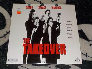 The-Takeover-Laserdisc-Ld-Billy-Drago-John-Savage-Nick-Mancuso