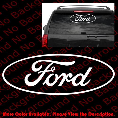 LARGE FORD LOGO Die Cut Car Window//Laptop//Die Cut Vinyl Decal Sticker FD006