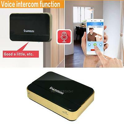 Wireless WiFi Doorbell Video Doorphone Intercom Monitor Security for Android iOS