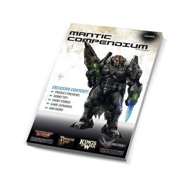 MANTIC Compendium Volume 1 - ROIS of War - Mantic jeux