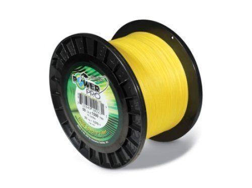 Power Pro Braided Line 20 LB Test, Hi -Vis Gelb 1500 yds