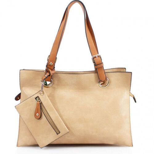 Women Large 887 Rectangular Shoulder Bag Detatchable Small Purse Ladies Tote Bag