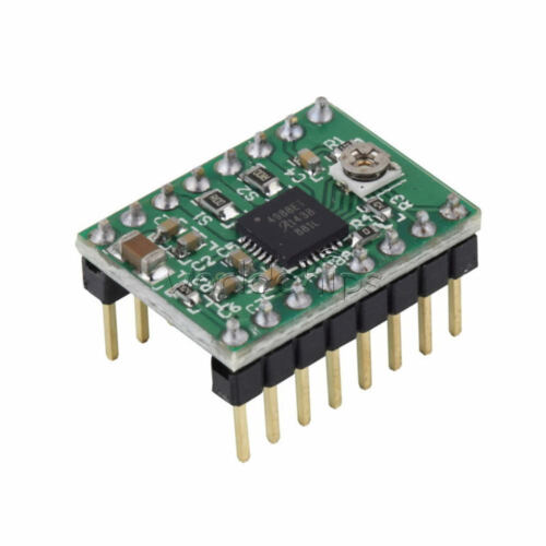 Green Module 2/5/10PCS A4988 Stepper Motor Driver with Heatsink for 3D Printer