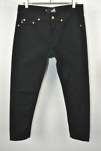 Love Moschino Negro Para Hombre Skinny Pantalones Talla 30 Ebay